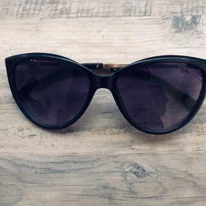Chanel pearl cat eye sunglasses